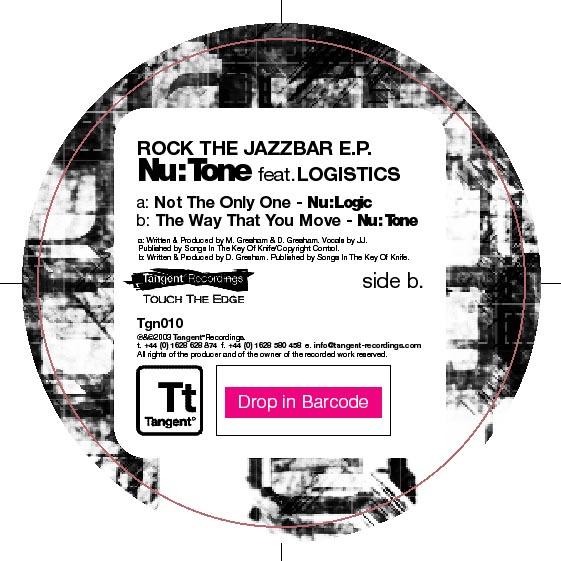 Nu:Tone - Rock The Jazz Bar EP
